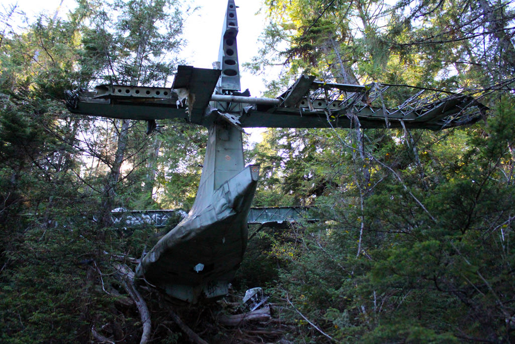 Plane Crash Site - The Canso